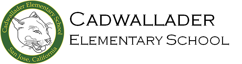 Cadwallader Elementary School logo - go home page