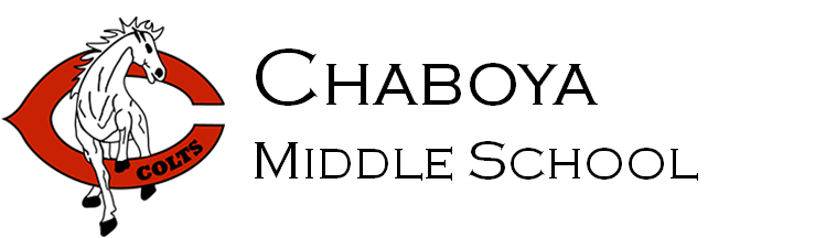 Chaboya Middle School Logo - go home page
