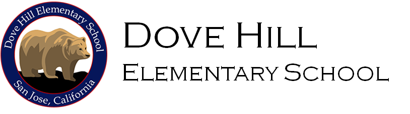 Dove Hill Elementary School Logo - go home page
