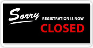 Sorry, Registration is now CLOSED